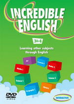 Incredible English 2ed. 3 DVD (Level 3 & 4)